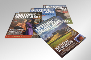 Four issues of the Historic Scotland membership magazine