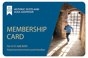 Historic Scotland Membership Card